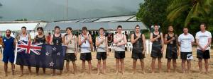 2017 - U17 Beach NZ team